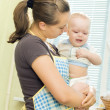 Dissatisfied with your baby — Stock Photo