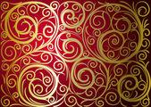 Gold ornament — Stock Vector