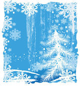 Grunge Christmas background — Stock Vector