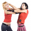 Two girlfriends fighting — Stock Photo #2715578