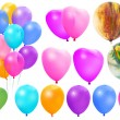 Stock Photo: Colored balloons