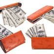 Purse with money — Stock Photo #2737738