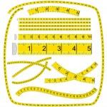 Art Brush «Measuring tape» (see palette brush in file) — Stock Vector #3394482