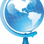 Terrestrial globe — Stock Vector #3638911