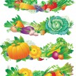 Royalty-Free Stock Vector Image: Banners with vegetables