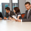 Business team meeting in office — Stock Photo #3809926