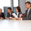 Business team meeting in office — Stock Photo #3810662