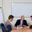 Businessmen in meeting at board room — Stock Photo #3811086