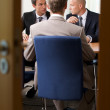 Businessmen in meeting at board room — Stock Photo #3818411
