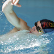 Stock Photo: Swimming (Breast Stroke)