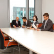Business team meeting in office — Stock Photo