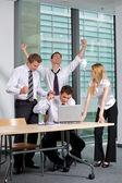 Verksamhet team arbetar på kontor — Stockfoto