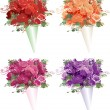 Stock Vector: Bouquets