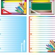 Royalty-Free Stock Vector Image: School Business Set