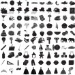 100 Icon Set 3 — Stock Vector #3545528