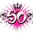 Stock Photo: 50th Birthday or Anniversary