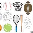 Stock Vector: Sports Icons