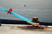 Docked ship — Stock Photo