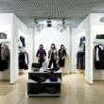 Interior of shopping — Stock Photo