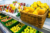 Fresh vegetables, fruits — Stock Photo