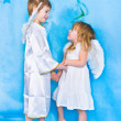 Stock Photo: Beautiful little angels