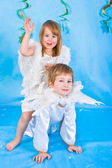 Beautiful little angels — Stock Photo