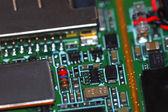 Circuito, tablero electrónico celular — Foto de Stock