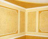 Yellow room — Stock Photo
