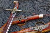 Armas viejas — Foto de Stock