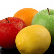 Coloured fruits — Foto de Stock