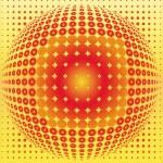 Sphere digital background black, disco ball, nightclub — Stock Photo #3456188