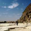 Stock Photo: Near Pyramid