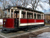 Old tram. — Stock Photo