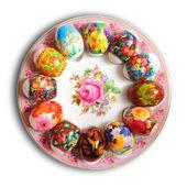 Пасхальные яйца. — Стоковое фото
