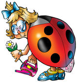 Ladybird. — Stockfoto