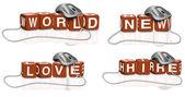 New world hire love — Stock Photo