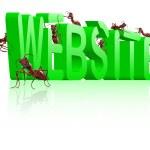 site em desenvolvimento de construção www — Foto Stock