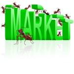 Market building marketing — Stock Photo #3794556