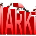 Market building marketing — Stock Photo #3802113