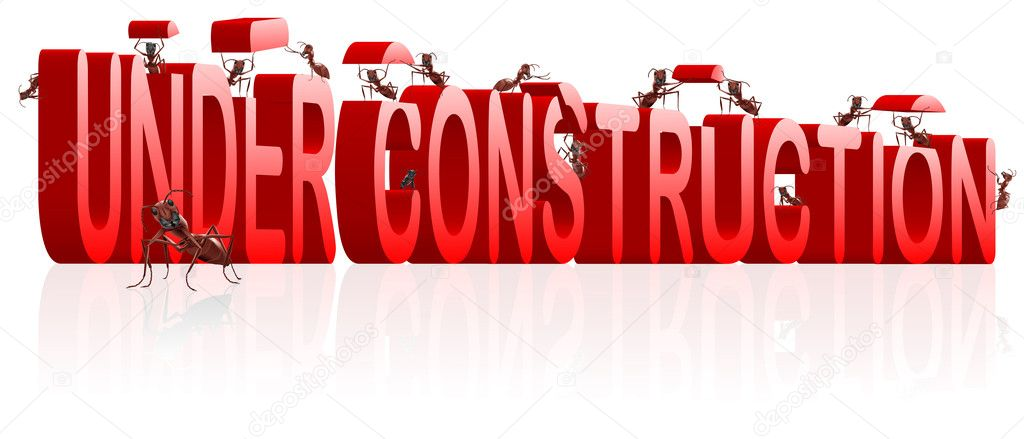 Www under construction webpage website building web page development  Stock Photo #3801774