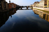 River Arno — Stock Photo