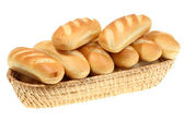 Basket of bread roll. — Stock Photo