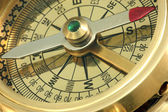 Antique compass. — Stock Photo
