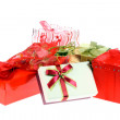 Gift boxes and bags. — Stock Photo