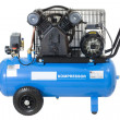 Blue compressor. - Stock Photo