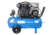 Blue compressor. — Stock Photo