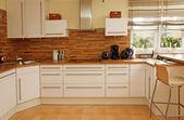 Modern kitchen interior. — Stock Photo