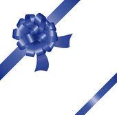 Vector bow and ribbon — Stock Vector