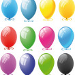 Set of Balloons - Stock Photo