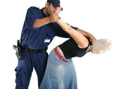 Arresting a thief or criminal — Stock Photo